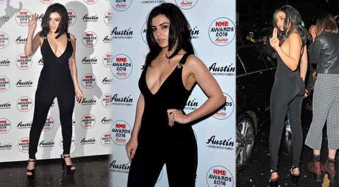 Charli XCX – 2016 NME Awards in London