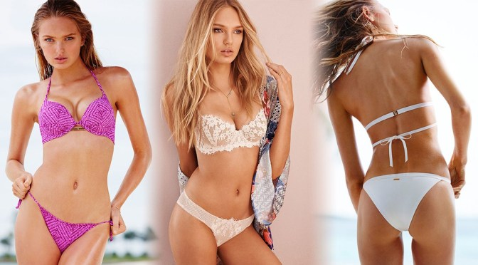 Romee Strijd – Victoria's Secret Bikini & Lingerie Photoshoot