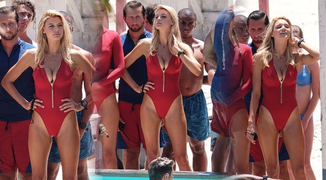 "Kelly Rohrbach – Swimsuit Candids on ""Baywatch"" Movie Set in Georgia"