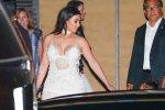 Kim Kardashian - Cleavage Candids in Malibu