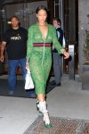 Rihanna - Braless See-Through Candids in New York
