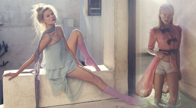 Vita Sidorkina – Elle Magazine Photoshoot