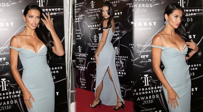 Adriana Lima – 2016 Fragrance Foundation Awards in New York