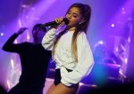 Ariana Grande - HP Lounge Party in Paris