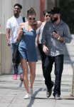 "Charlotte McKinney - ""Literally Right Before Aaron"" Movie Set in Los Angeles"