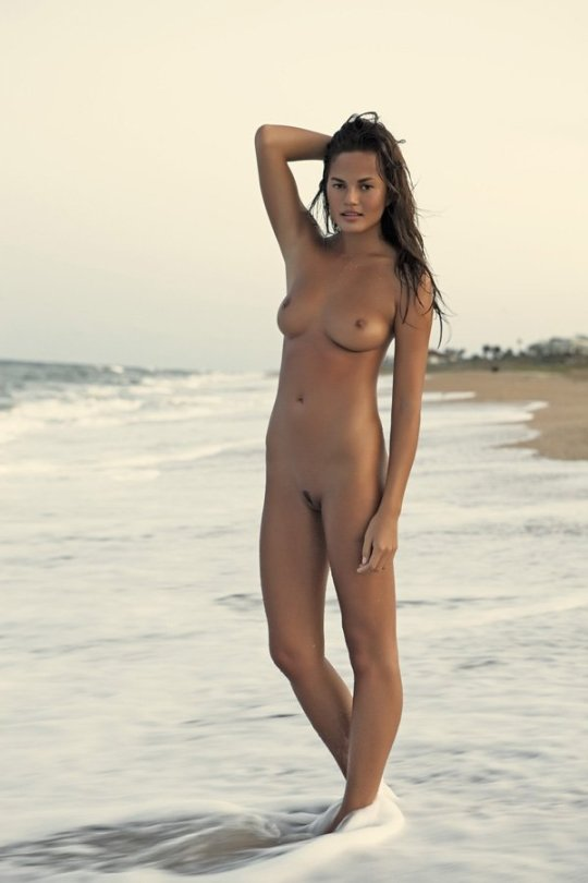 Chrissy Teigen - Naked Photoshoot by Dorian Caster