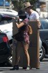 Sarah Hyland - Braless Candids in Los Angeles