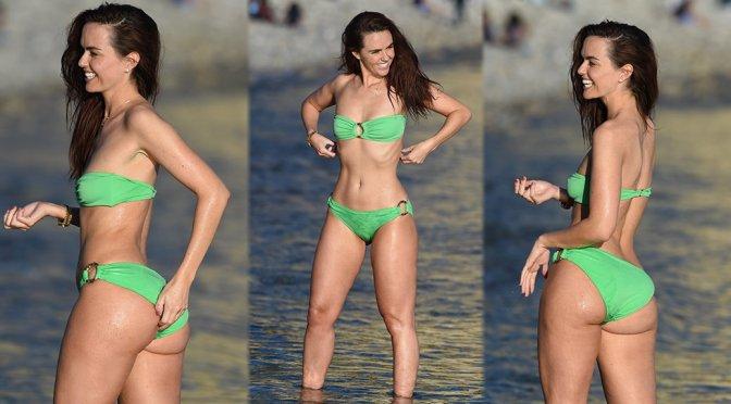 Jennifer Metcalfe - Bikini Candids in Ibiza