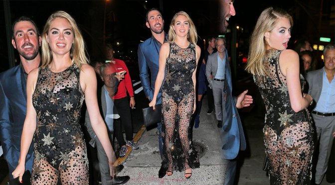 Kate Upton – 24th Birthday Party at The Blond in New York