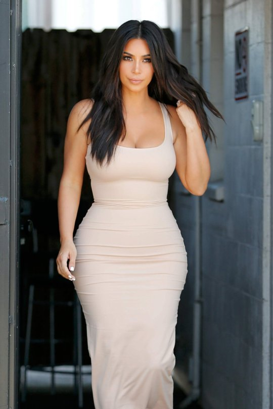 Kim Kardashian - Candids in Los Angeles