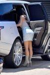 Kim Kardashian - Candids in Malibu