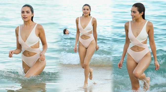 Olivia Culpo - Swimsuit Candids in Cabo