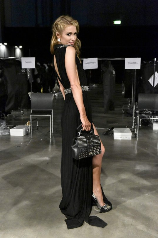 Paris Hilton - Philip Plein Fashion Show in Milan