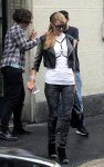 Paris Hilton - Candids in Milan