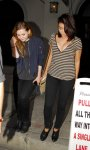 Sarah Hyland - Cleavage Candids in West Hollywood