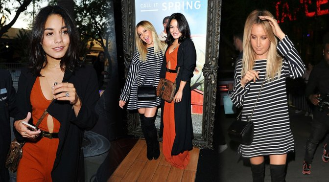 "Vanessa Hudgens & Ashley Tisdale – ""Call It Spring"" Event in Los Angeles"