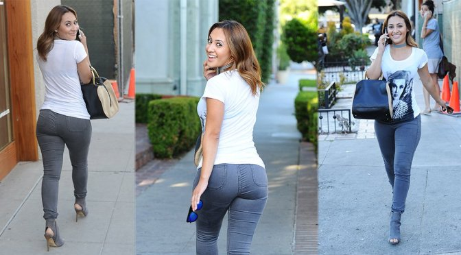 Francia Raisa – Candids in Beverly Hills