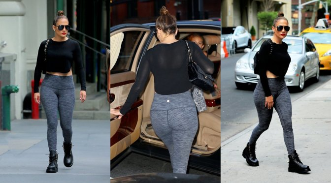 Jennifer Lopez – Candids in New York