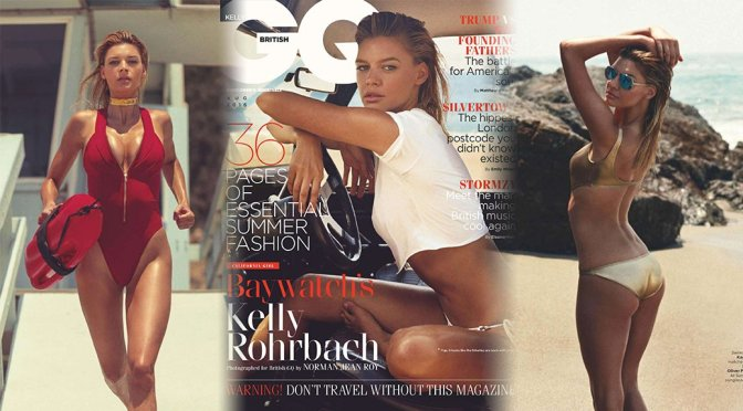 Kelly Rohrbach – GQ UK Magazine (August 2016)