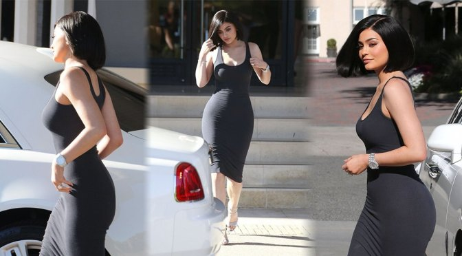 Kylie Jenner – Candids in Beverly Hills