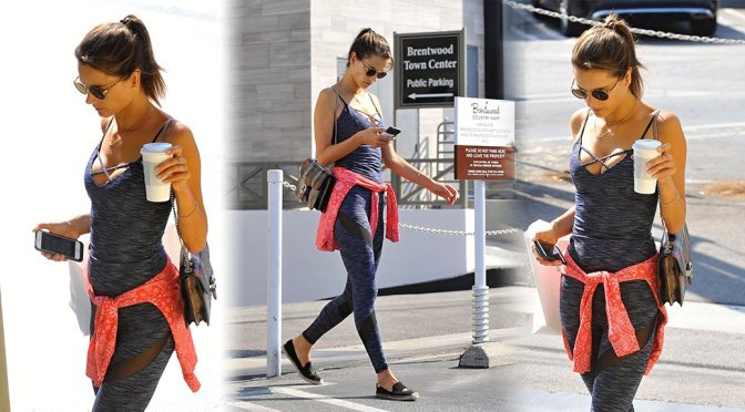 Alessandra Ambrosio – Candids in Brentwood