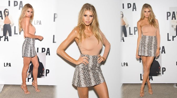 Charlotte McKinney – LPA Launch Party in Los Angeles