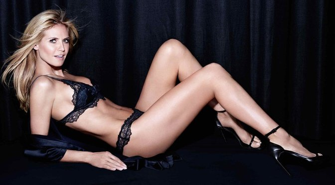 "Heidi Klum – ""Intimates"" Lingerie Photoshoot"