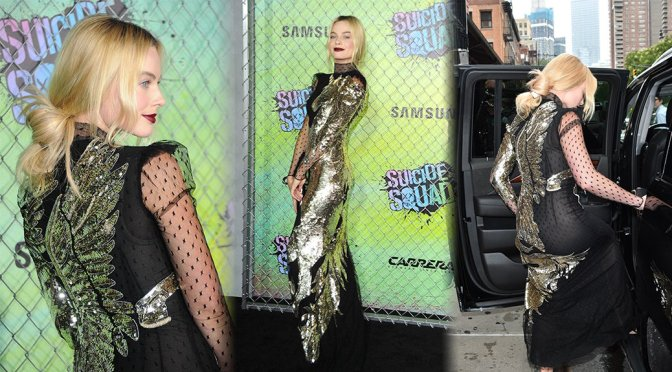 "Margot Robbie – ""Suicide Squad"" Premiere in New York"