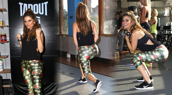 Maria Menounos – Tapout Fitness Event in New York