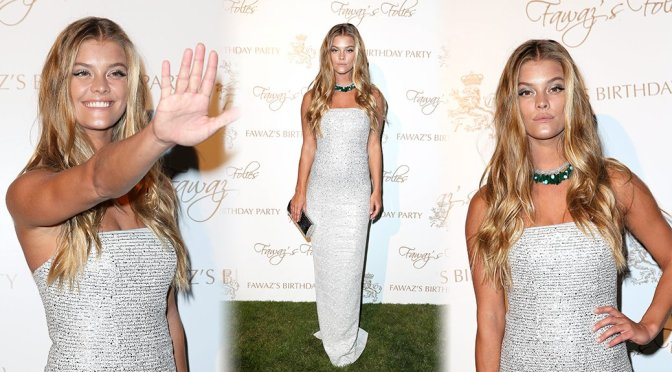 Nina Agdal – Fawaz Gruosi's Birthday Party in Sardinia