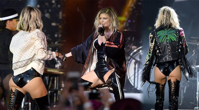 "Stacy ""Fergie"" Ferguson Performing Live at Pandora Summer Crush in Los Angeles"
