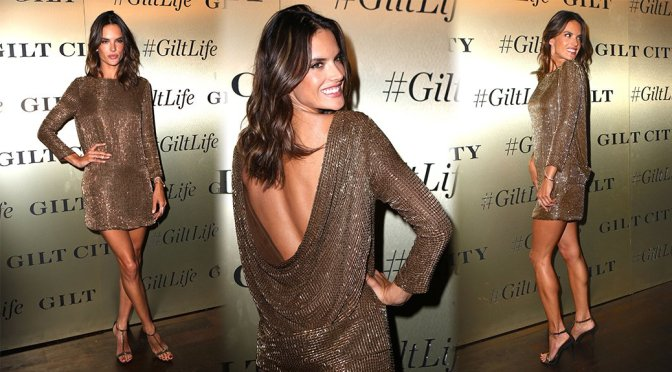 Alessandra Ambrosio – GiltLife Launch Party Event in New York