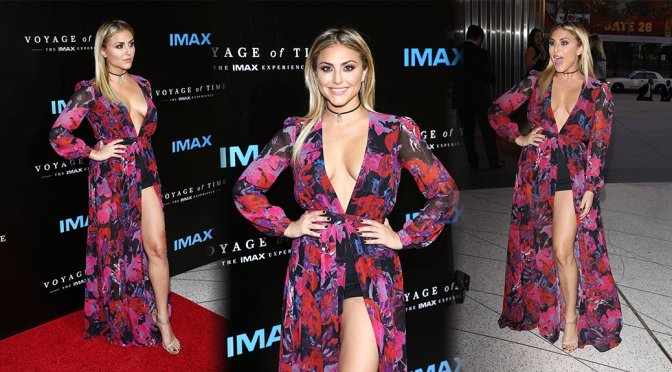 """Cassie Scerbo – """"Voyage of Time: The IMAX Experience"""" Premiere in Los Angeles"""