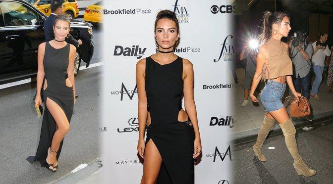 Emily Ratajkowski – Daily Front Row's Fashion Awards in New York
