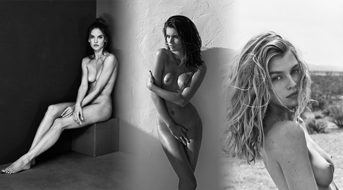 """Various Celebs – """"Nude Flowers"""" Portraits by Mariano Vivanco"""