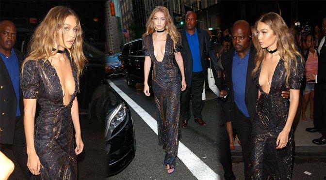Gigi Hadid – Daily Front Row's Fashion Awards in New York