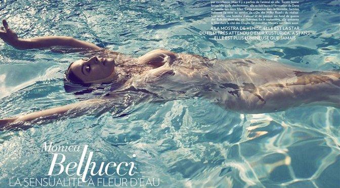Monica Bellucci Topless in Paris Match Magazine (September 2016)