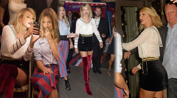 Taylor Swift – #TOMMYNOW Women's Fashion Show in New York