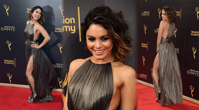 Vanessa Hudgens – Creative Arts Emmy Awards in Los Angeles