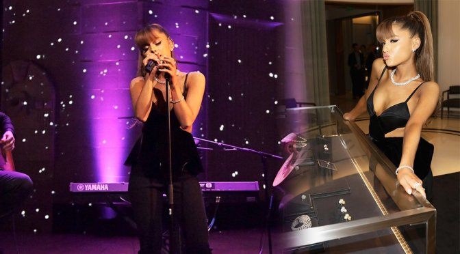 Ariana Grande – Tiffany and Co. Event in Beverly Hills