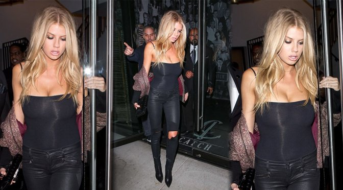 Charlotte McKinney – Candids in West Hollywood