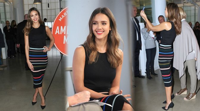Jessica Alba – Martha Stewart Made in America NY Summit