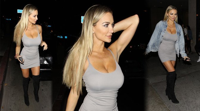 Lindsey Pelas – Candids in West Hollywood