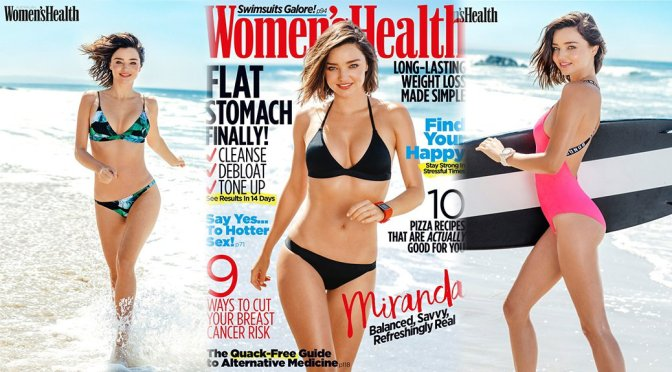 Miranda Kerr – Women's Health Magazine Photoshoot (November 2016)