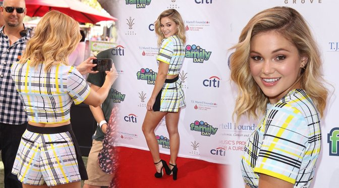 Olivia Holt – T. Martell's Family Day in Los Angeles