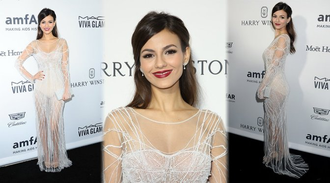 Victoria Justice - amfAR's Inspiration Gala in Hollywood