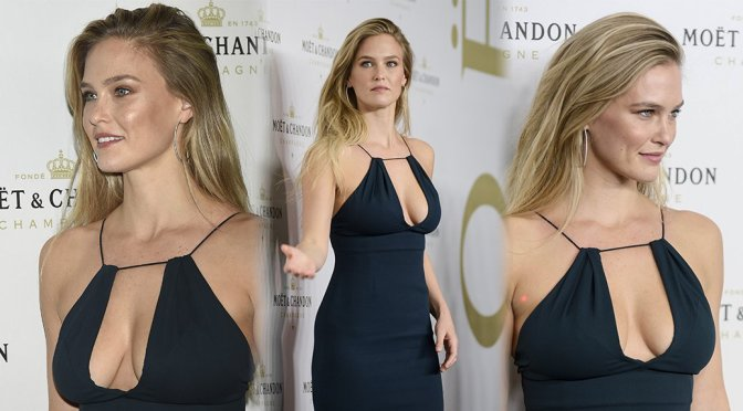 Bar Refaeli – Moet & Chandon New Year's Eve Party in Madrid