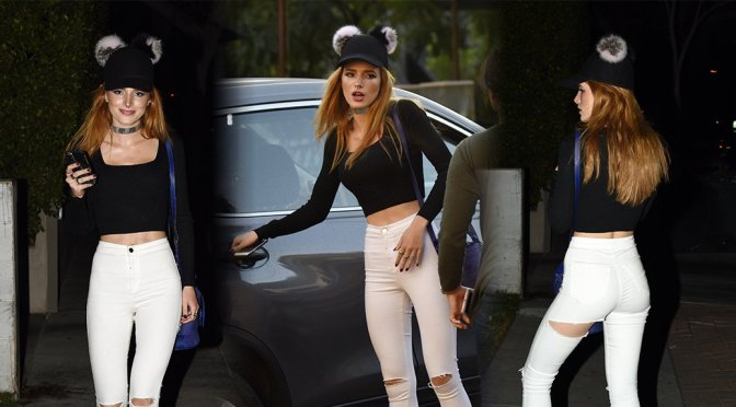 Bella Thorne – Candids in Los Angeles