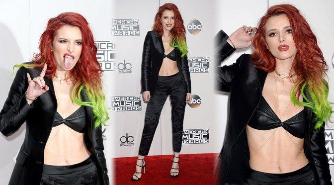 Bella Thorne - 2016 American Music Awards in Los Angeles
