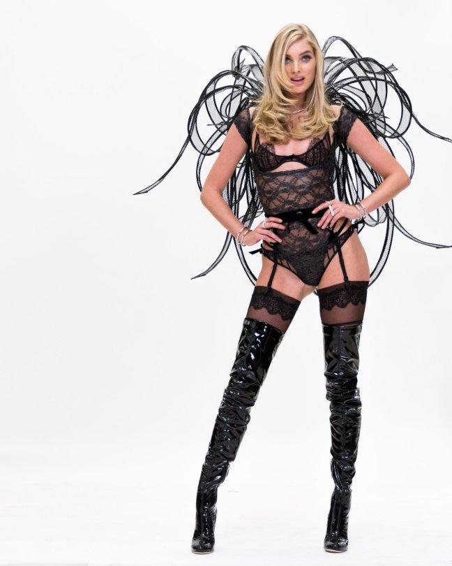 Elsa Hosk - Victoria's Secret Costume Fitting in New York